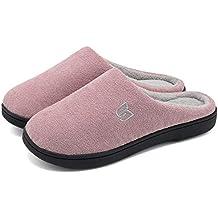 d304e8db78 HMIYA Pantofole da casa per Donna Uomo Inverno Peluche Memory Foam Ciabatte  da casa - Ultra