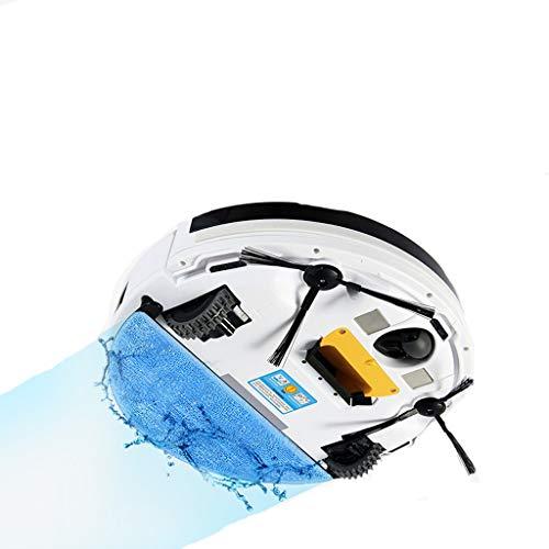 LZ-Aspirador-de-Robot-Limpieza-automtica-del-hogar-Potente-succin-sin-enredos-75-cm-Diseo-Delgado-Aspirador-robtico-para-Alfombra-Piso-Duro-Blanco