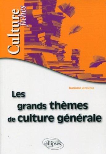 Grands Themes de Culture Generale en Fiches