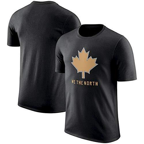 NBA T-shirt Toronto Raptors Polyester Lässig Lose Jugend Buchstaben Kurzarm Mode Komfort Herren Jersey Toronto Raptors-fan