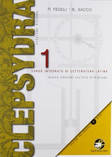 Clepsydra. Per i Licei e gli Ist. magistrali. Con CD-ROM: 1
