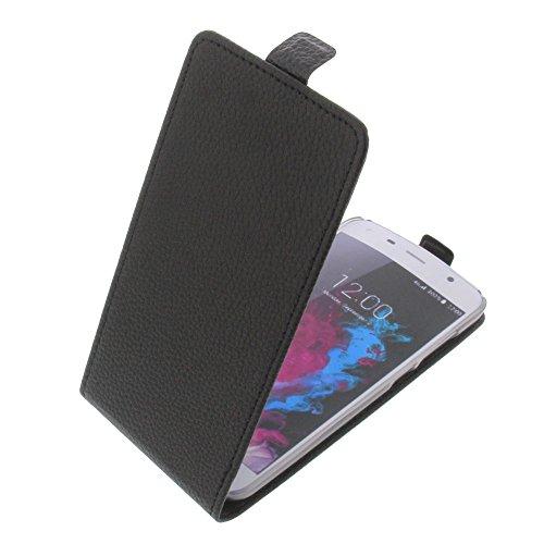 foto-kontor Tasche für UMI Touch 2016 Flipstyle Schutz Hülle Handytasche schwarz