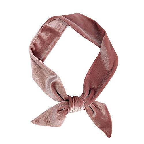 Stirnbänder für Frauen, Frauen Stirnbänder wickeln sich um das gedrehte elastische Haarband mit niedlichen Haar-Accessoires Haar-Accessoires für Frauen und Mädchen