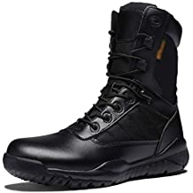 Tácticas De Montañismo Al Aire Libre Para Hombre Entrenado Martin Ejército Boots Desert Policía Militar Tácticas
