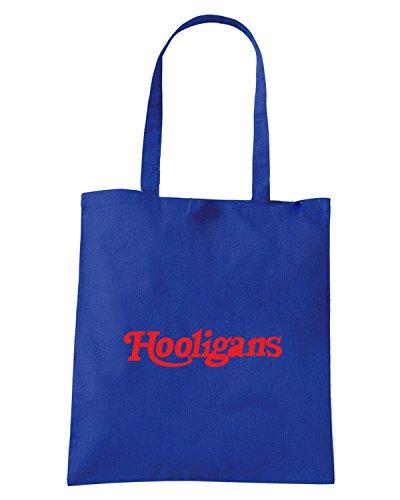 T-Shirtshock - Borsa Shopping TUM0224 ultras hooligans Blu Royal