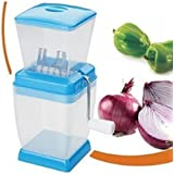 Onion Chopper/Cutter, 1-Piece (Colors May Vary) By Simran Sales