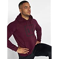 Under Armour, Rival Fleece Logo Hoodie, Felpa, Uomo, Marrone (Marrone Scuro/Nero), L