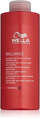 Wella Brilliance Conditioner für feines bis normales coloriertes Haar 1000 ml, 1er Pack (1 x 1000 ml)