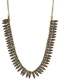 Riya Art Gold Plated Strand Necklace For Women (STJ1048)