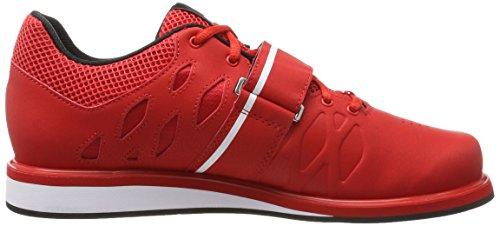 Reebok Herren Lifter Pr Turnschuhe, Rot Rot (Primal Red/Black/White)