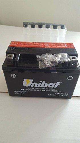 BATTERIA UNIBAT CBTX9-BS (12V - 8AH)