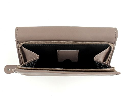 CHIEMSEE Spongy Small Zip Around Wallet Taupe Taupe (Beige)