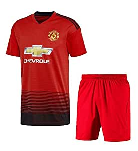 Manchester United Football Jersey for Men (Small, red)