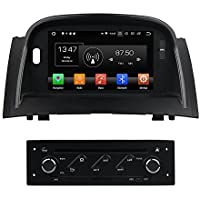 Kunfine Android 8.0 Octa Core Car DVD GPS Navigation Multimedia Player Car Stereo for Renault Megane II 2002 2003 2004 2005 2006 2007 2008 2009 Autoradio Volante Control with 3G Wifi Bluetooth Free SD Map 7""