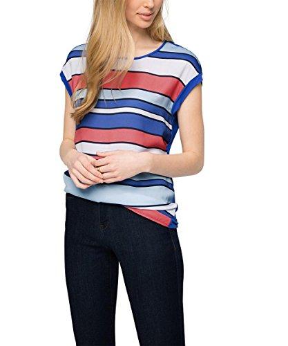 ESPRIT Collection Regular Fit Tank Top, Donna, Multicolore (BRIGHT BLUE 410), 42