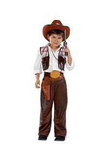 Cesar - Disfraz de vaquero (cowboy) para niño (de 3/5 años)