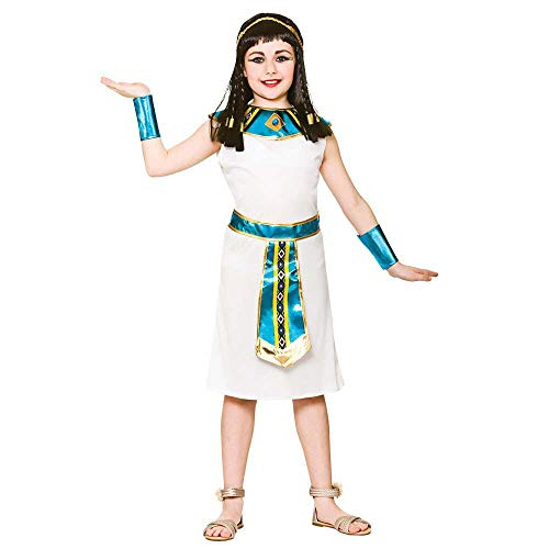 Mädchen Kleopatra Historische Kostüm (L 8-10 ()