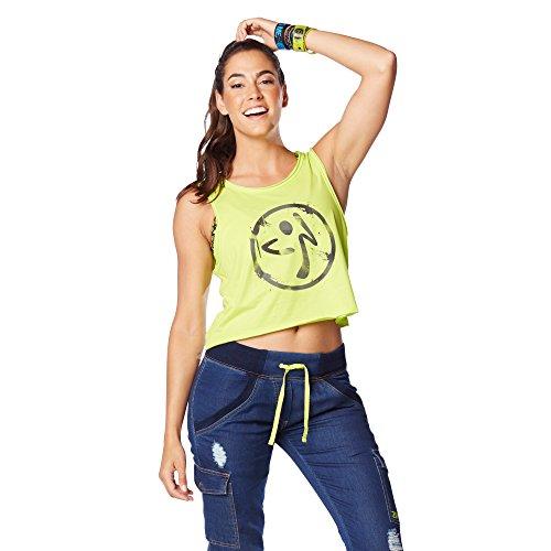 Zumba Fitness Be The Boss Loose - Camiseta sin mangas para mujer,...