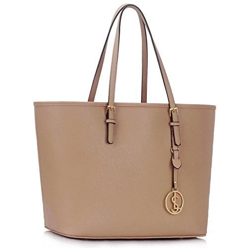 Trendstar Damen Konstrukteur Taschen Damen Große Shopper Bag Kunstleder Schulter Trage Taschen