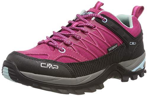 CMP Damen Rigel Low Trekking- & Wanderhalbschuhe Pink (Karkadé-Anice 15hc) 40 EU