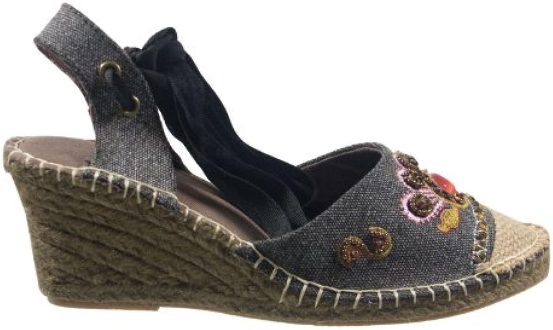 Ornela Brenti 33216-901 Damen Schuhe Premium Qualität Sandalette