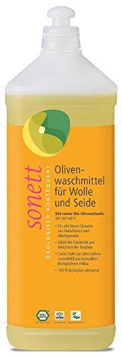 sonett Olivenwaschmittel für Wolle & Seide, 1 l