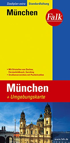 Falk Stadtplan Extra Standardfaltung München