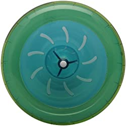 HABITRAIL Ovo rueda para hámster enano hábitat, verde/azul