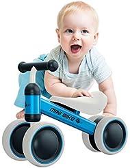 YGJT Vélo Enfant 1 an Porteur Bébé Moto Jouet Enfant 10-18 Mois Véhicule sans Pédale