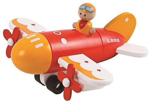 LELIN Kinder Kids magnetisch Holz Flugzeug Spielzeug Modell Play Set (Kinder Flugzeug-modell Für)