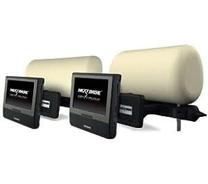nextbase click duo next7 kit voiture lecteur dvd portable double cran 7 support. Black Bedroom Furniture Sets. Home Design Ideas