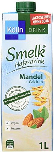 Kölln Smelk Haferdrink Mandel, 8er Pack (8 x 1 l)