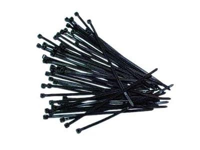 Kabelbinder schwarz 300mm 50 Stück von HQ bei Lampenhans.de