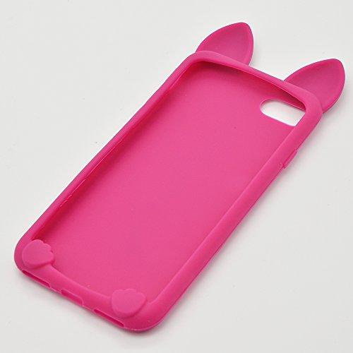 Case iPhone 6S, iPhone 6 Cover, Bonice Lusso Cristallo Diamante Strass Glitter Bling [Rotazione Grip Ring Kickstand] Morbida Bordo in Silicone Posteriore a Specchio Telefono con Supporto Dellanello C Pattern 19