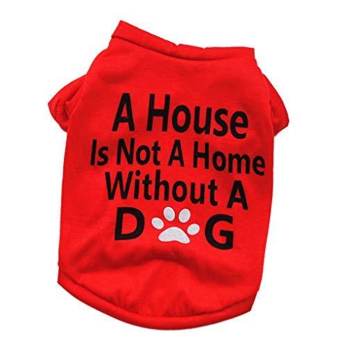 Festliche Kleidung Kostüme Letters Dog Top Feste Bluse T-Shirt Welpen Haustier Hund Sommer-Frühlings-Kleidung T-Kostüm Outwear Small Cute - Comfort Letter