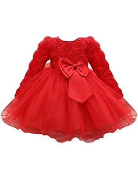 Amlaiworld Baby Prinzessin Party Kleider Mädchen Niedlich Hochzeit Kleid Sommer frühling Kinder Langarmshirt Mode...
