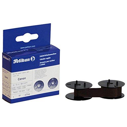Preisvergleich Produktbild Pelikan 51 S+U Farbband (kompatibel zu Canon/Facit/Sharp, 13 mm x 6 m) violett nylon
