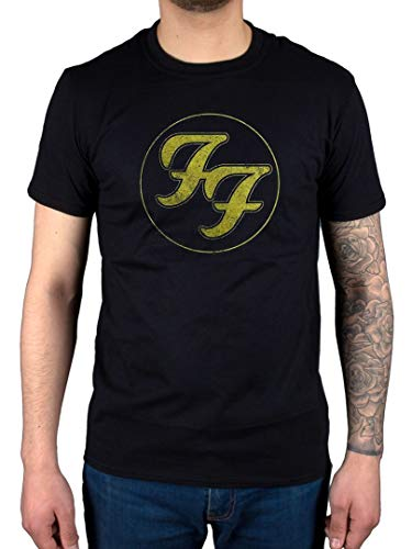 Awdip ufficiale foo fighters distressed t-shirt