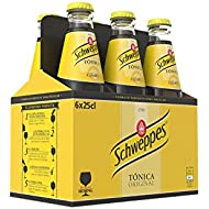 Schweppes Tónica Bebida Refrescante - 6 Botellas