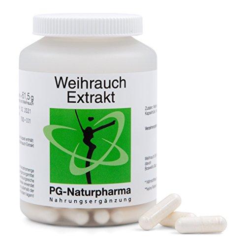 Boswellia Serrata puro, veganas, Incienso, 120 cápsulas cada una con 450 mg de extracto de Boswellia Serrata, cápsulas de incienso de dosis altas, con 65% de ácido de Boswellia - antiinflamatorio
