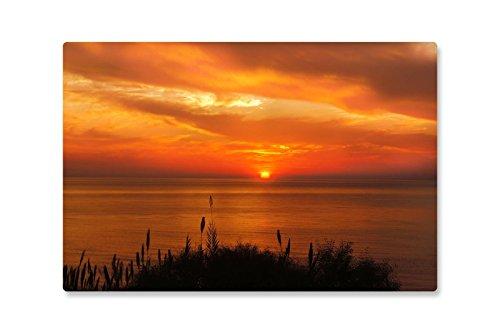 Rutschfeste Design-Schreibunterlage Sonnenuntergang Meer 60 x 40 cm, aus DA-Media in...