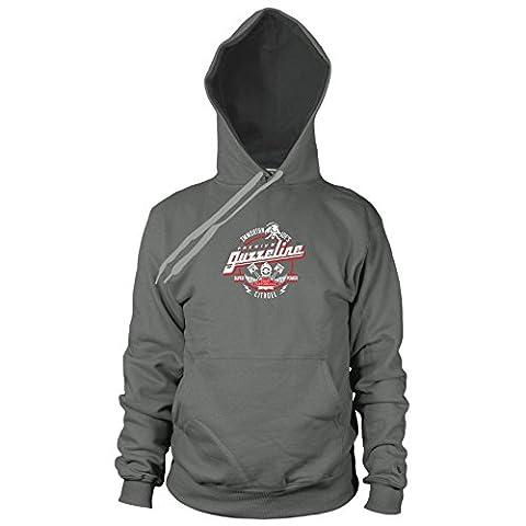 Immortan Joe's Premium Guzzeline - Herren Hooded Sweater, Größe: M, Farbe: grau