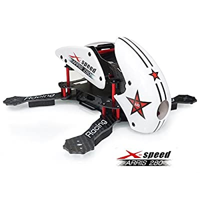 ARRIS X-Speed 280 Racing drone Frame RC Quadcopter Kit (Unassembled) from Hobby-Wing