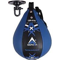Aamron  SBR-A1A - Bolso de Boxeo y Saco de Boxeo Giratorio para Entrenamiento de Artes Marciales Mixtas, Color Azul, Tamaño Talla única