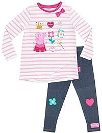 Peppa Pig Conjunto de Top y Leggings para niñas - Peppa