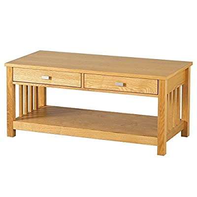 Ashmore 2 Drawer Coffee Table produced by Seconique - quick delivery from UK.