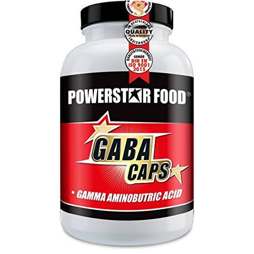 GABA CAPS - Hochdosiert mit 750 mg Gamma-Aminobuttersäure - 120 Kapseln - besseres Schlafverhalten führt zu besserem Wohlbefinden und Regeneration - VEGAN - Deutsche Herstellung - Gamma-aminobuttersäure