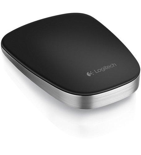 Logitech T630 Ultrathin Touch Maus USB schwarz