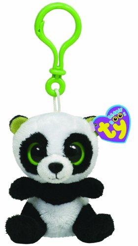 Imagen principal de Ty 36502 Beanie Boos - Oso panda de peluche Bamboo con anilla