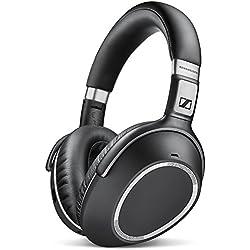 [Inalámbrico] Sennheiser PXC550 - Auriculares de diadema cerrados con cancelación de ruido adaptativo, Bluetooth, color negro